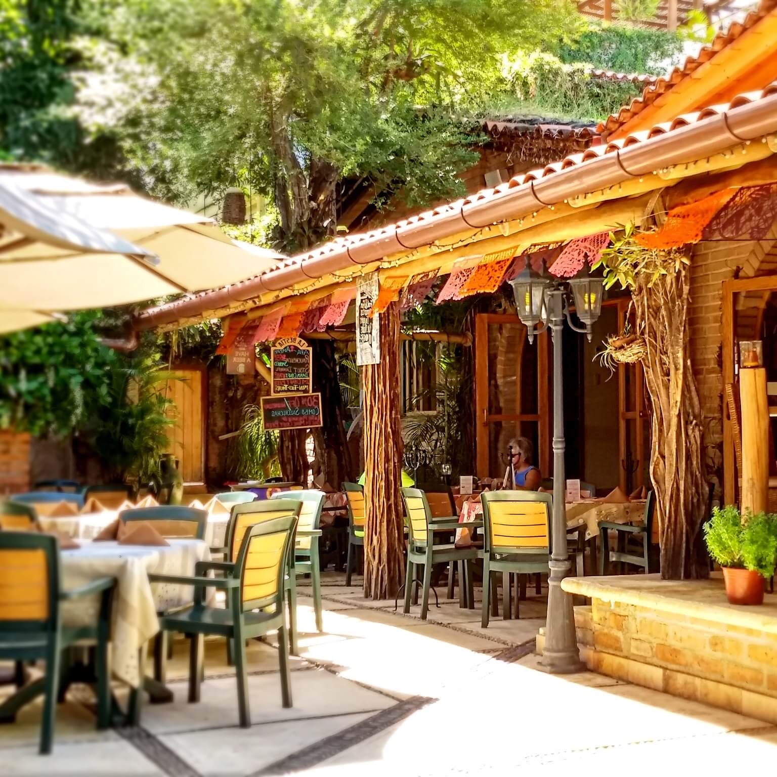 The Hacienda Alemana restaurant