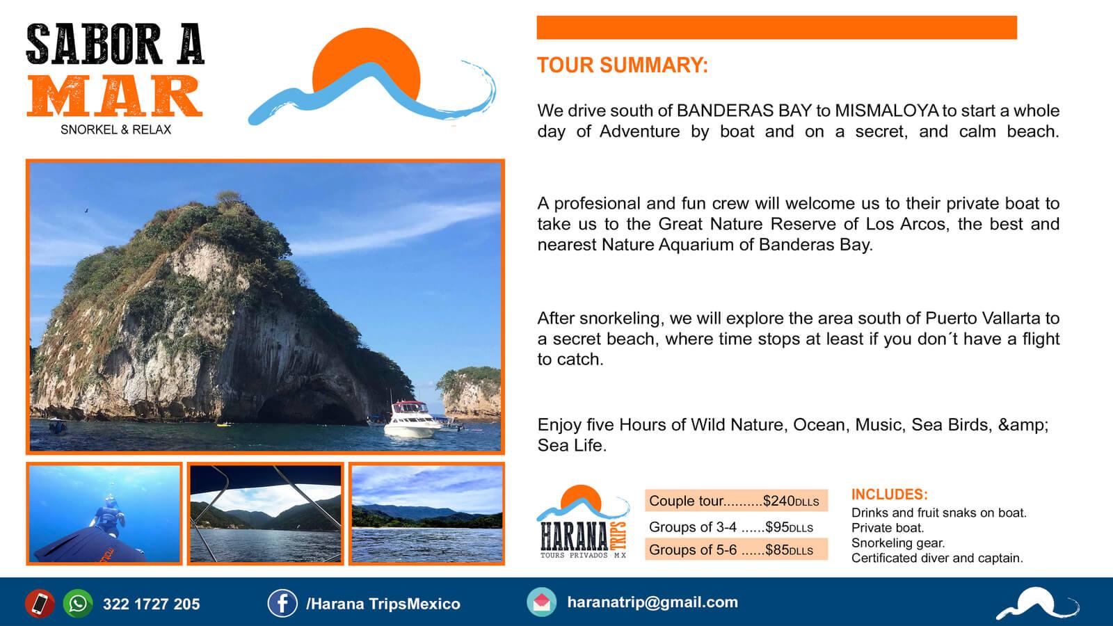 Savor a Mar tour summary