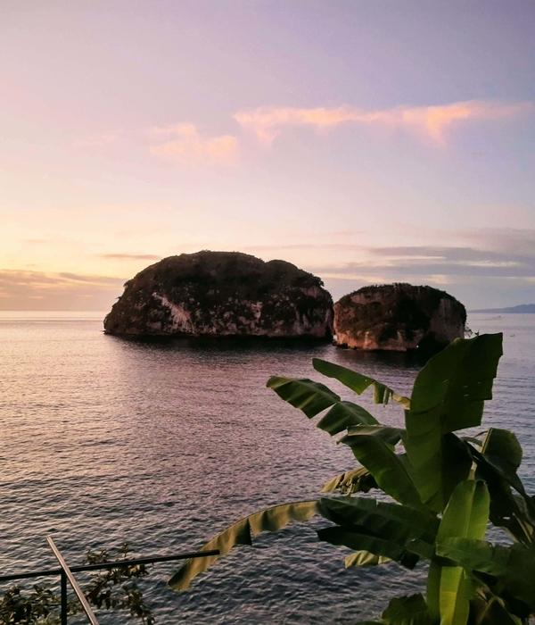 Los Arcos islands in Banderas Bay, Puerto Vallarta